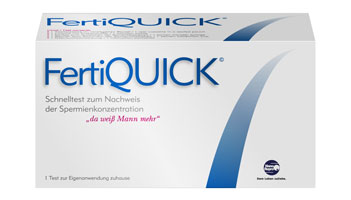 FertiQUICK Spermientest