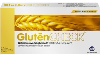 GlutenCHECK Rapid test for the diagnosis of gluten intolerance