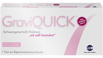 GraviQUICK Pregnancy Rapid Test