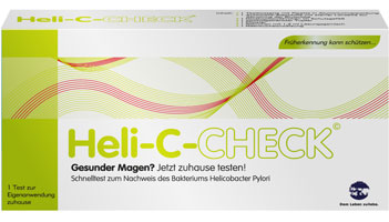 Heli-C-CHECK Rapid test for the detection of Helicobacter pylori infection
